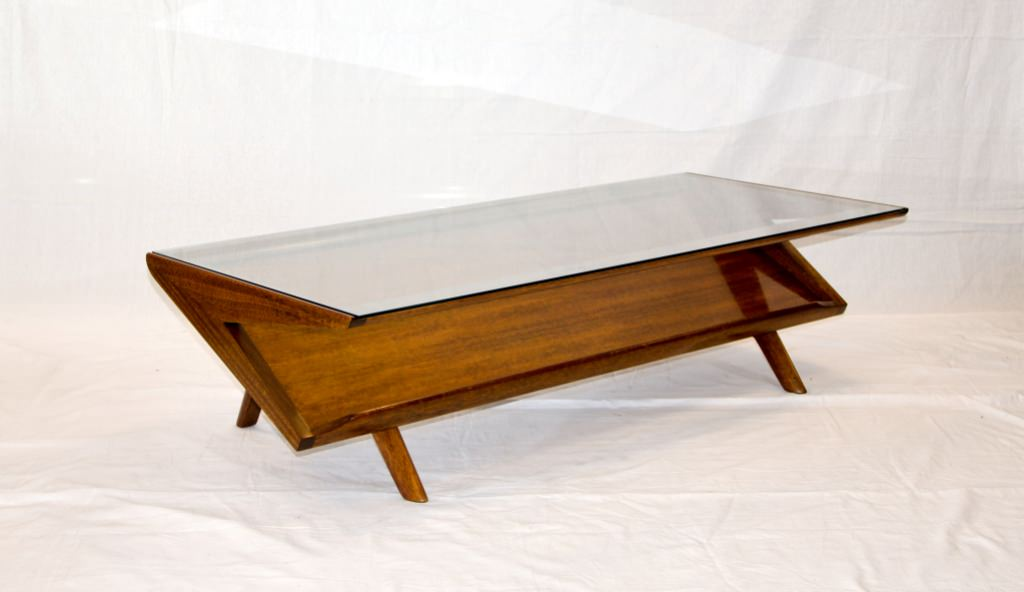 MID Century Modern Coffee Table Glass Wonderful Furniture Inspiration Ideas Simple And Neat Look Brown Walnut Veneer Lift Top (View 10 of 10)