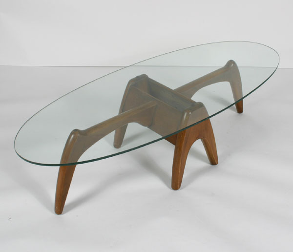 MID Century Modern Coffee Table Glass Drawer Wood Storage Too Much Brown Furniture A National Epidemic Accent Side Table (View 2 of 10)