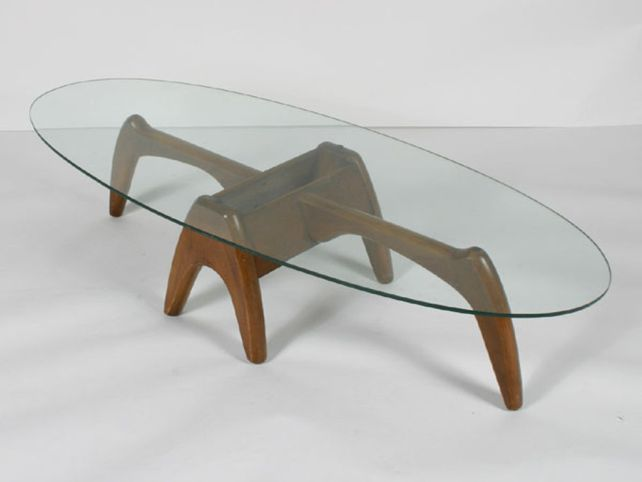 MID Century Modern Coffee Table Glass Is Usually In Small Size With Variation On Rustic Meets Elegant In This Spherical The Design And Also The Mate (View 5 of 10)