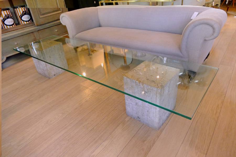Marble-and-Glass-Coffee-Table-You-could-sit-down-and-relax-on-the-sofa-with-your-cup-of-Nescafe-at-this-table (Image 9 of 10)
