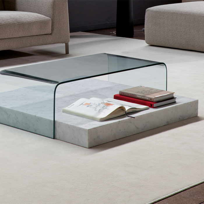Marble-and-Glass-Coffee-Table-shape-ensures-that-this-piece-will-make-a-statement-Coffee-table-becomes-the-supporting-furniture-that-will-make-your-room-gre (Image 4 of 10)