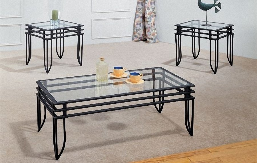 10 Photos Metal Glass Coffee Table