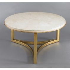 Milo-Coffee-Table-Travertine-woth-3-legs-ideas-wonderful-classic-Marble-Top-Coffee-Table-Round (Image 2 of 8)