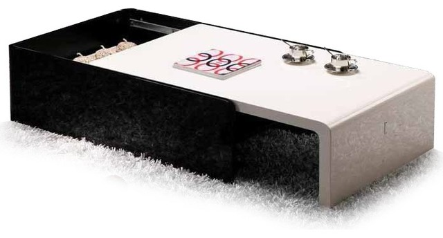 2018 Popular Modern Black Coffee Tables
