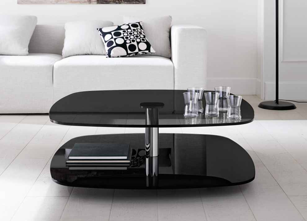 Modern Black Glass Coffee Table Console Tables All Narcissist And Nemesis Family Modern Design Sofa Table Contemporary Glass (Image 5 of 10)