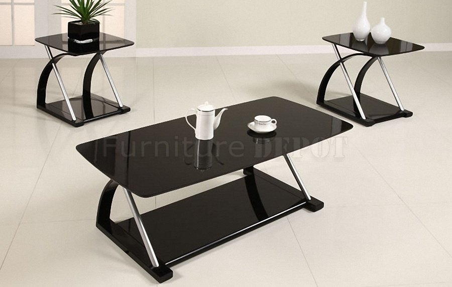 Black Glass Tables 10 ideas of modern black glass coffee tables