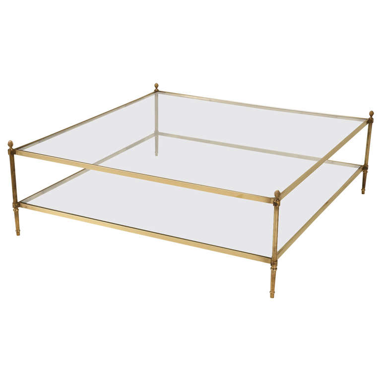 Modern Coffee Table Storage Furniture Inspiration Ideas Simple And Neat Look The Shelf Underneath Is For Magazines (Image 4 of 10)