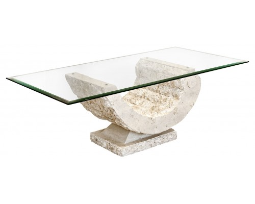 Modern Marble Coffee Table Furniture Inspiration Ideas Simple And Neat Look The Shelf Underneath Is For Magazines (Image 2 of 10)