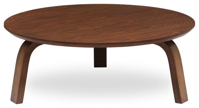 Modern Round Coffee Table With Storage Modern Coffee Tables1 (Image 2 of 10)