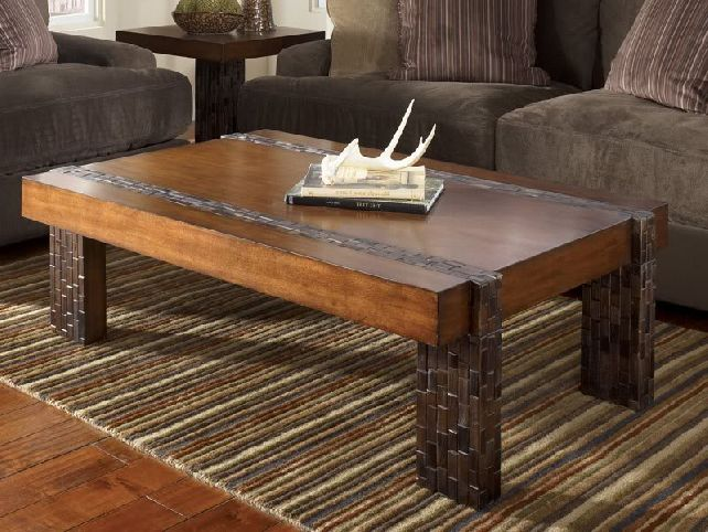 10 best rustic coffee table plans Rustic coffee table design plans