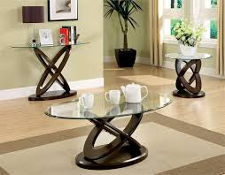 Modern Small Oval Glass Coffee Table Featured Top Glass Coffee Tables Uk With 3 Piece Glass Coffee Table Sets Style Desi (Image 4 of 10)