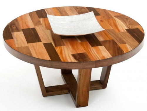 Modern Wood Coffee Table Reclaimed Metal Mid Century Round Natural Diy All Cheap Modern Coffee Table Wood Free (Image 7 of 10)
