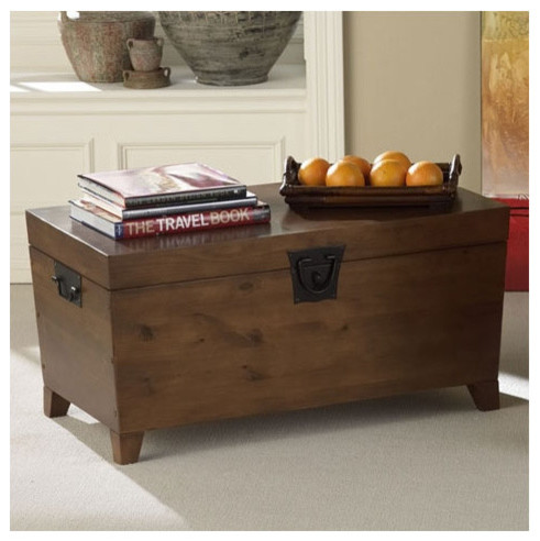 Modern Wood Coffee Table Reclaimed Metal Mid Century Round Natural Diy All Cheap Modern Trunk Coffee Table Style (Image 8 of 10)