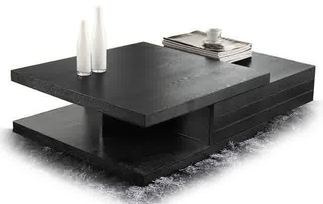 Modern-wood-coffee-table-reclaimed-metal-mid-century-round-natural-diy-All-modern-coffee-table-black-store (Image 6 of 10)