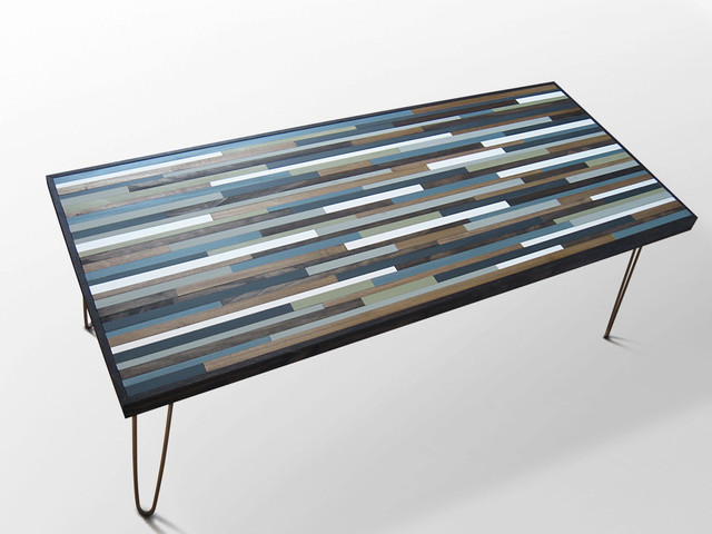 Modern Wood Coffee Table Reclaimed Metal Mid Century Round Natural Diy All Modern Coffee Table Legs Abstract (View 5 of 10)