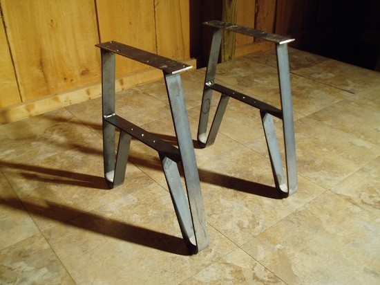 Modern Wood Coffee Table Reclaimed Metal Mid Century Round Natural Diy All Modern Coffee Table Legs (Image 4 of 10)