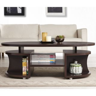 Modern Wood Coffee Table Reclaimed Metal Mid Century Round Natural Diy All Modern Coffee Tables Overstock Free (Image 7 of 10)