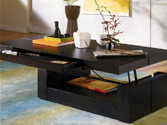 Modern-wood-coffee-table-reclaimed-metal-mid-century-round-natural-diy-All-modern-lift-Top-Coffee-table-wood (Image 10 of 10)