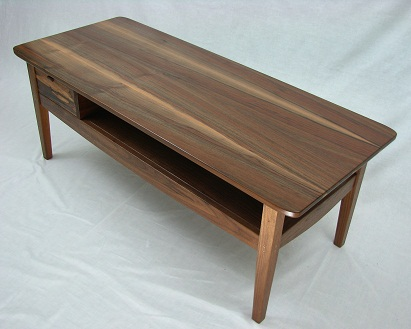 Modern-wood-coffee-table-reclaimed-metal-mid-century-round-natural-diy-All-modern-walnut-coffee-table-free (Image 6 of 10)