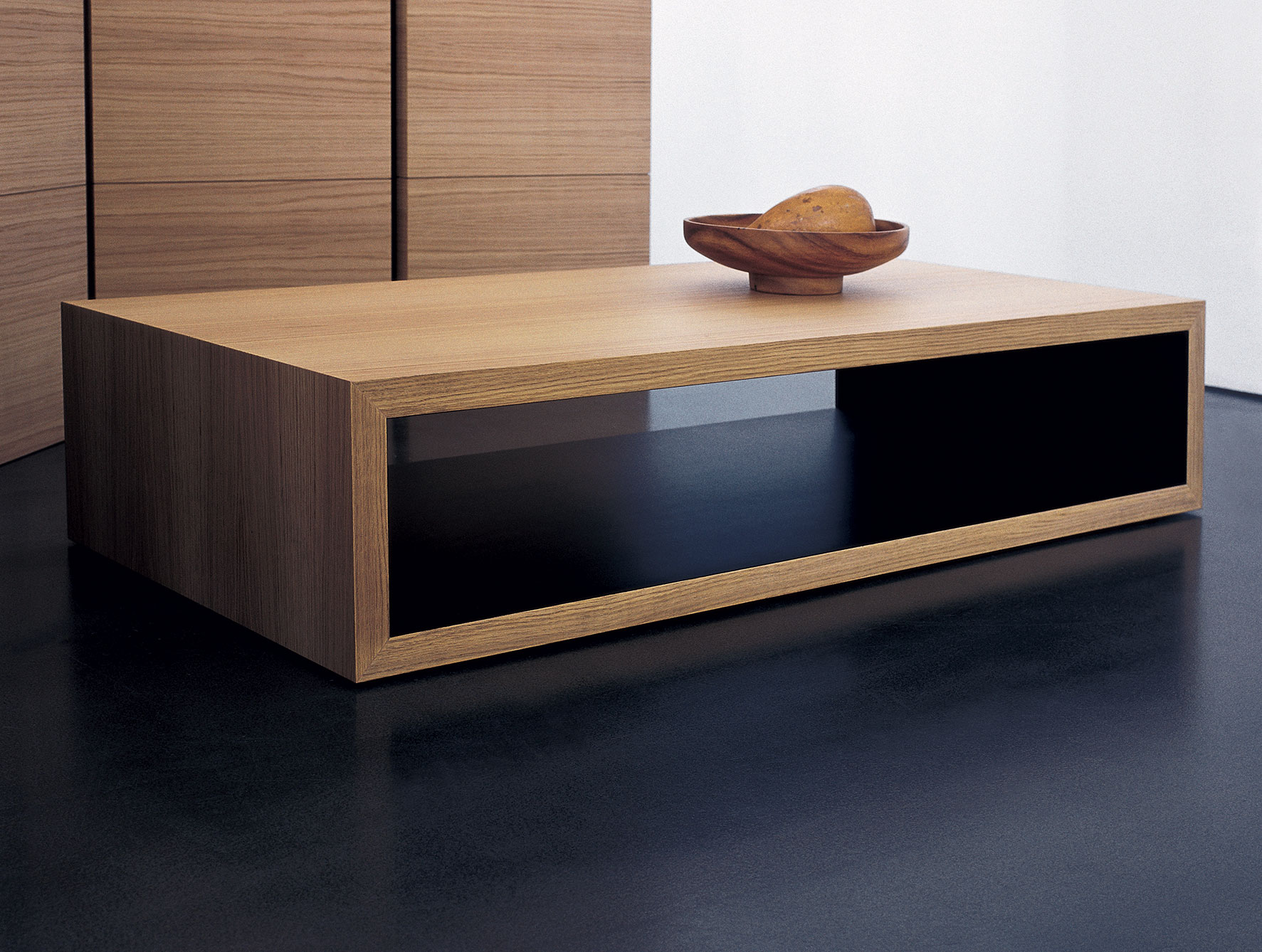 Modern-wood-coffee-table-reclaimed-metal-mid-century-round-natural-diy-All-modern-walnut-coffee-table-mondo (Image 9 of 10)