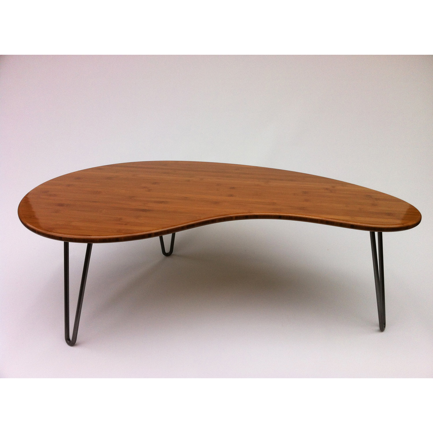 Modern Wood Coffee Table Reclaimed Metal Mid Century Round Natural Diy Contemporary Mid Century Modern Coffee Tables (Image 2 of 10)