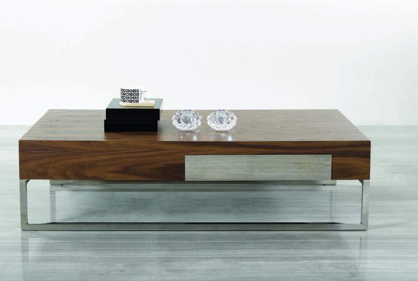 Modern-wood-coffee-table-reclaimed-metal-mid-century-round-natural-diy-Contemporary-Modern-Design-Coffee-tables-natural-easy (Image 6 of 10)