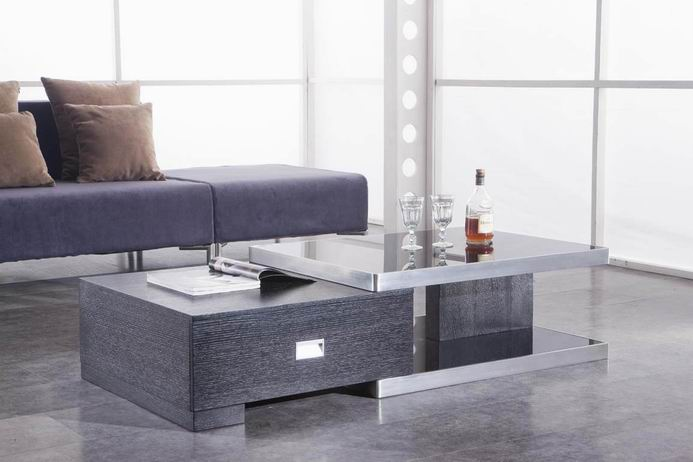 Modern-wood-coffee-table-reclaimed-metal-mid-century-round-natural-diy-Contemporary-Modern-Design-Coffee-tables-natural-purple (Image 9 of 10)