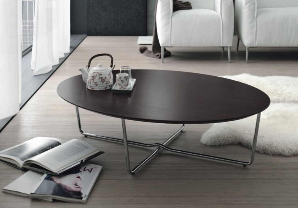 Modern-wood-coffee-table-reclaimed-metal-mid-century-round-natural-diy-Contemporary-Modern-Metal-coffee-table-example (Image 4 of 10)