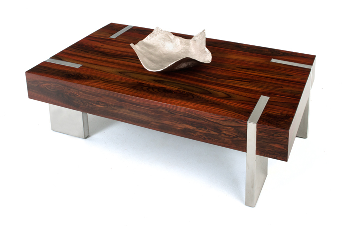 Modern-wood-coffee-table-reclaimed-metal-mid-century-round-natural-diy-Contemporary-antique (Image 5 of 10)