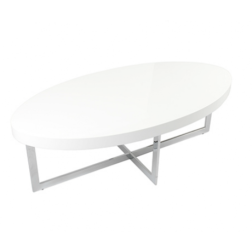 Modern Wood Coffee Table Reclaimed Metal Mid Century Round Natural Diy Modern Modern Oval Coffee Table (Image 6 of 10)