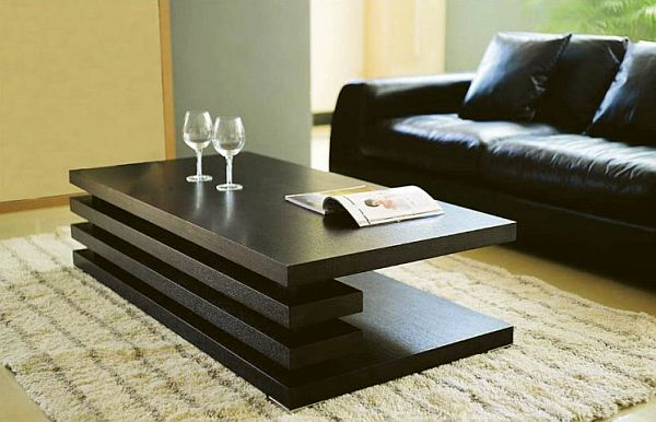 Modern Wood Coffee Table Reclaimed Metal Mid Century Round Natural Diy Modern Coffee Table Cheap Diy (Image 9 of 20)