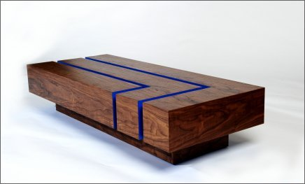 Best Wood Modern Coffee Table - Post modern coffee table