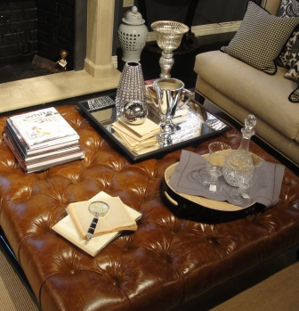 Incroyable The Best Large Leather Ottoman Coffee Table