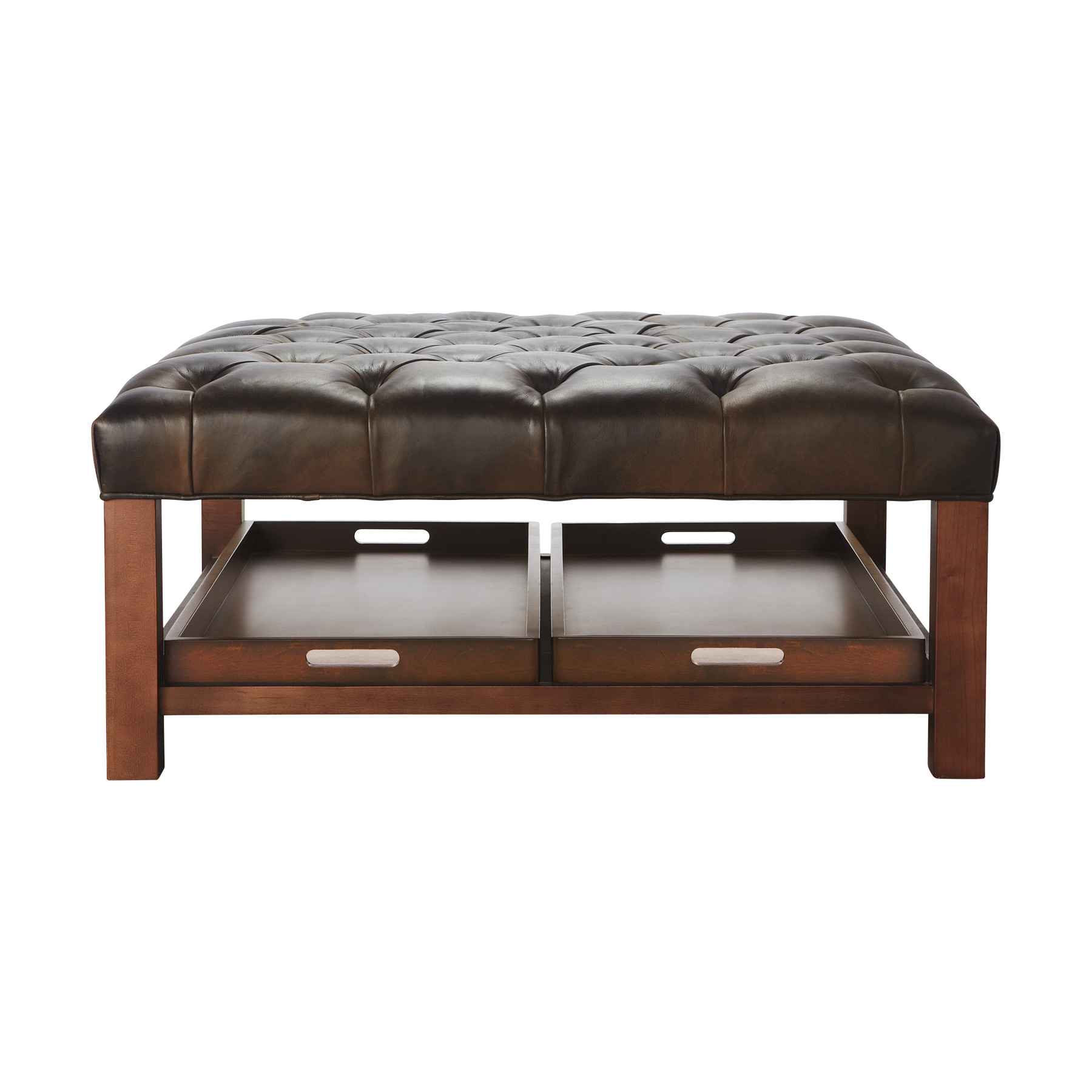 Modern Wood Coffee Table Reclaimed Metal Mid Century Round Natural Diy Padded Large Rectangular Leather Ottoman Coffee Table Easy (Image 9 of 10)