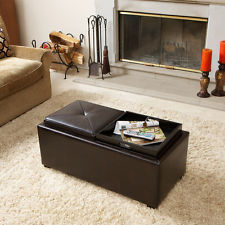 Modern-wood-coffee-table-reclaimed-metal-mid-century-round-natural-diy-padded-ottoman-coffee-table-with-storage-cool (Image 5 of 10)