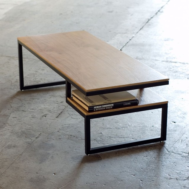 Modern-wood-coffee-table-reclaimed-metal-mid-ctentury-round-natural-diy-All-modern-coffee-tables-cheap-bes (Image 7 of 10)
