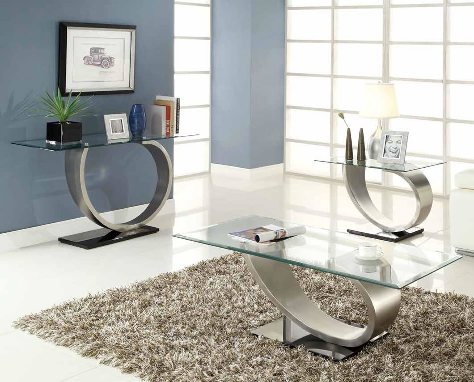 2018 best of modern metal coffee tables for Contemporary glass top coffee table