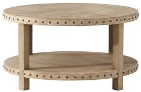 Nailhead Coffee Table From Home Decorators Collection Has A Great Look (Image 6 of 9)