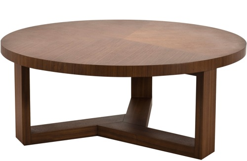 Newberry-Round-Coffee-Table-traditional-coffee-tables_Tripod-Round-Coffee-Table-by-Matt-Blatt (Image 9 of 10)