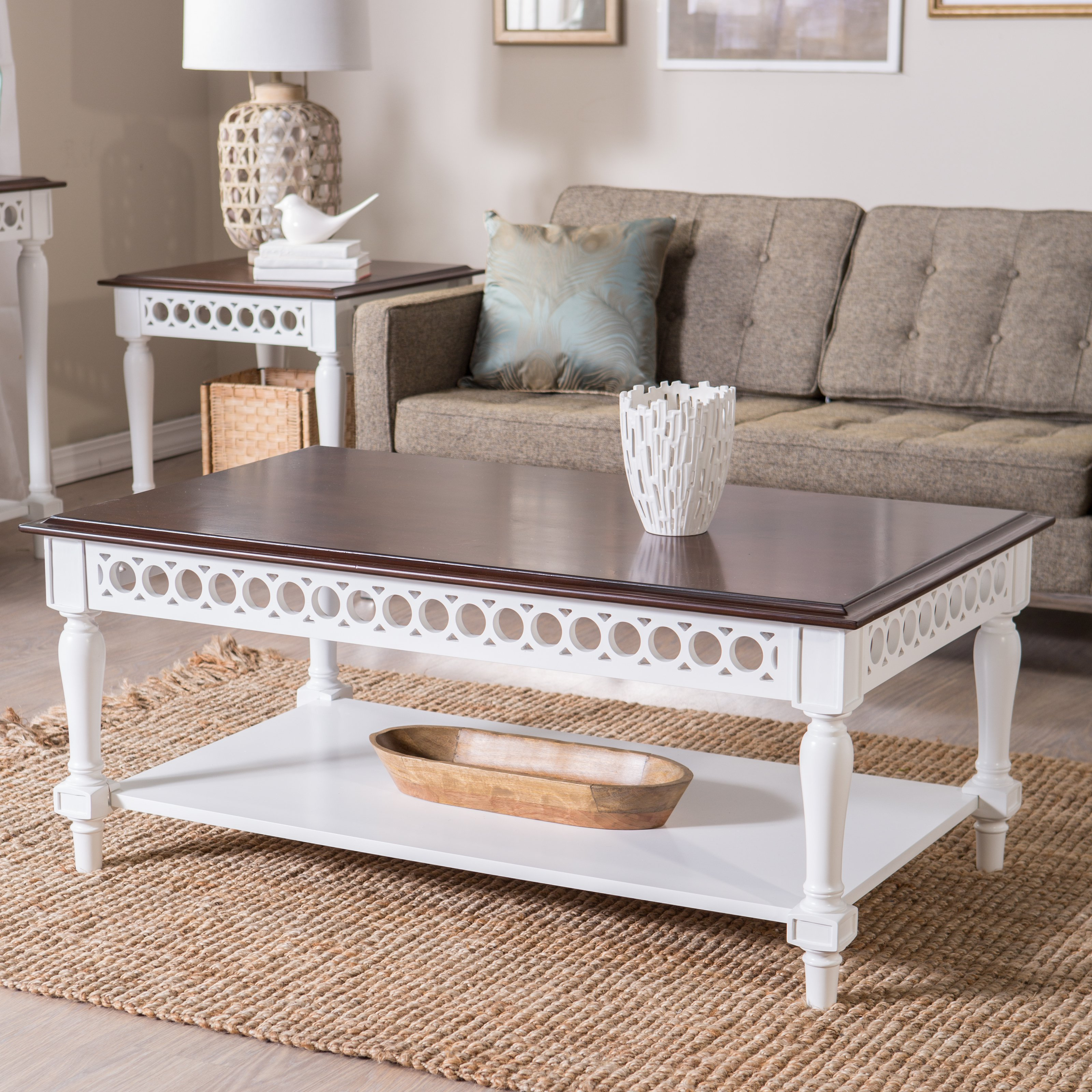 9 Inspirations of f White Coffee Table Sets