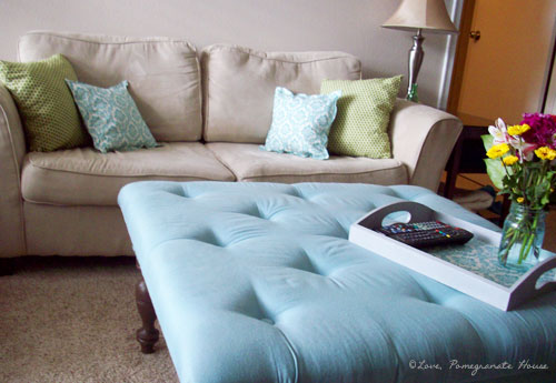 Featured Photo of Modern Ottoman Coffee Table Fabric