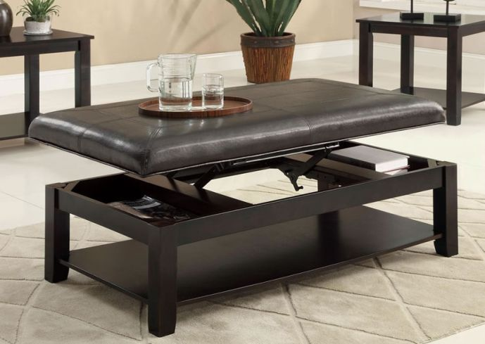 Beau Ottoman Coffee Table Ikea A Glass Coffee Table Is The Perfect Choice For  Furnishing Any Living