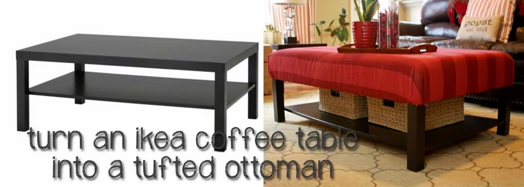 Ottoman Coffee Table Ikea Complete Your Lounge Room With The Perfect Coffee Table. The Saturn Glass Coffee Table Complements Both The Classic And Modern Look (Image 4 of 9)