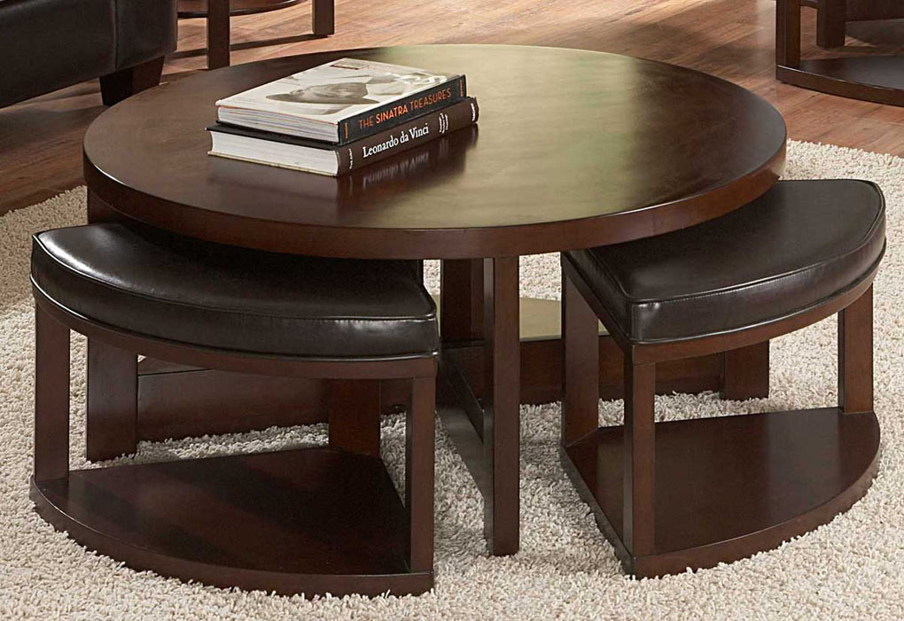 Featured Photo of Perfect Ottoman Round Coffee Table