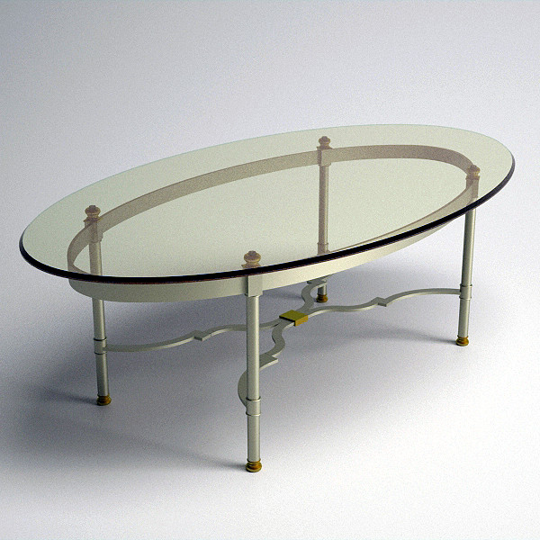 Oval Glass Coffee Table Available Also In Painted Glass As Per Samples In The Bright Or Mat Version (View 3 of 10)