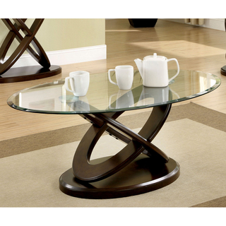 Oval Glass Coffee Table Is Both Practical And Stylish. The Angled Glass Provides For An Integral Unique And Functional Shower Bench Designs (Image 6 of 10)