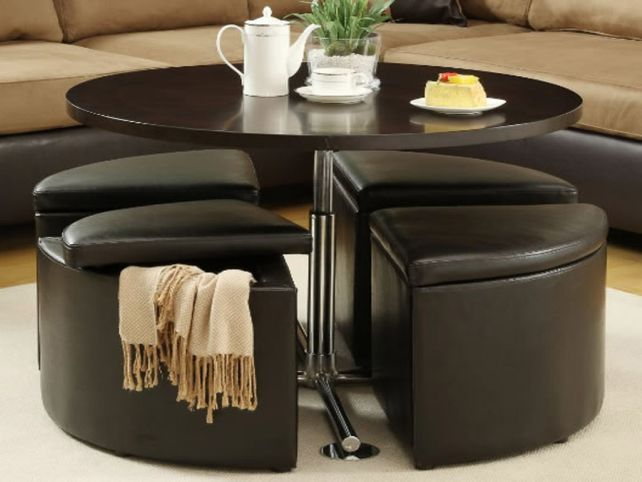 Random Photo Gallery Of Redoubtable Round Coffee Table With Storage (View 4 of 10)