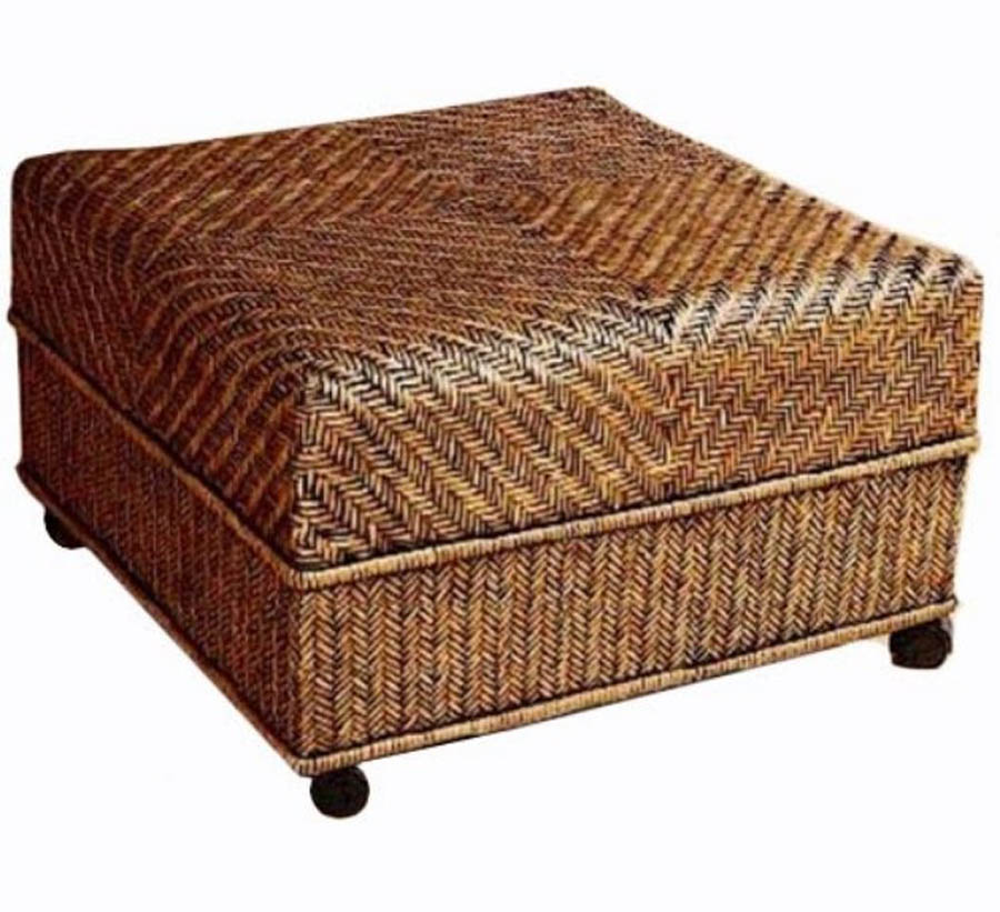 10 Best Ideas Of Wicker Coffee Table Ottoman