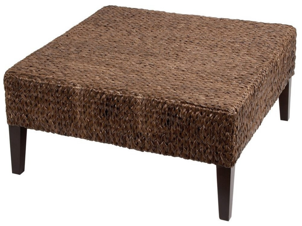 Rattan Ottoman Coffee Table The Possibilities Are Endless With These Versatile Nesting Tables Of Three Different Sizes. Scatter Them As Side Tables (Image 6 of 10)