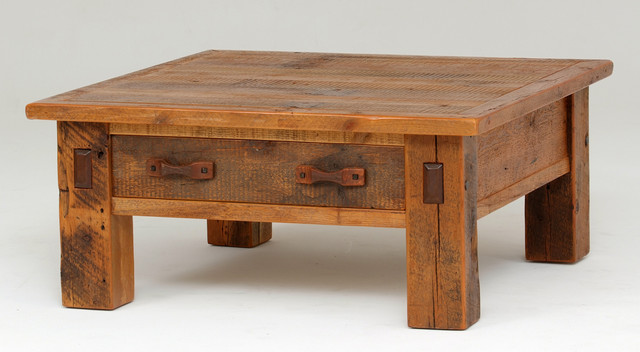 Reclaimed Barnwood Coffee Table Rustic Coffee Tables Rustic Coffee Tables Rustic Square Coffee Tables (Photo 4 of 9)